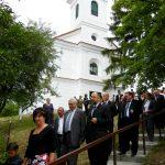 Kelemen Hunor la biserica din Doba